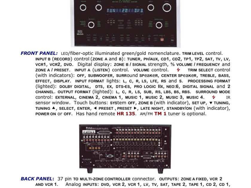 McIntosh MX-135 Pre-Amp/Processor (A/V Control Center) FULLY TESTED