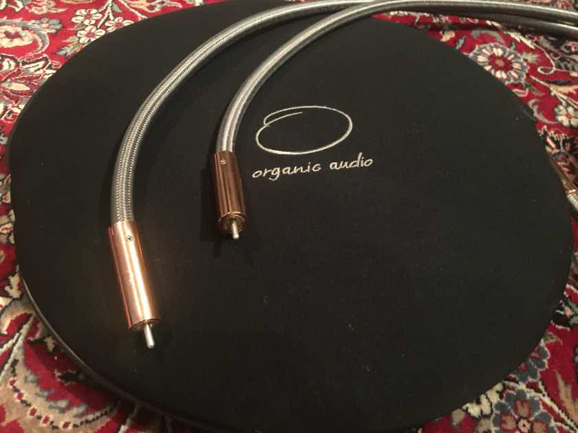 Organic Audio Reference Danish technology, copper.