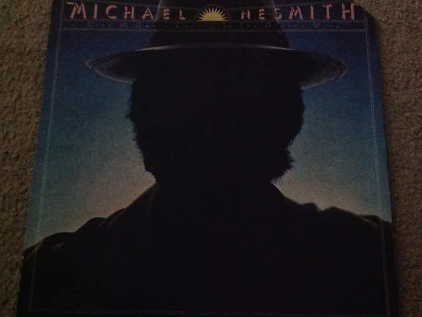Michael Nesmith - From A Radio Engine To A Photon Wing Pacific Arts Records Label  Vinyl LP NM