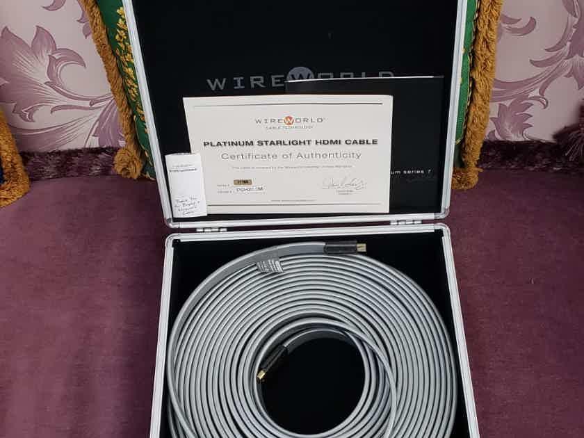 Wireworld Platinum Starlight 7 HDMI 20mt. JUST REDUCED !!