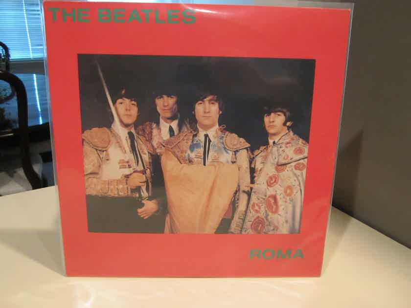 BEATLES ROMA, COLORED VINYL LP