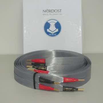 Nordost Tyr 2 Speaker Cable, four meters with Z-Plugs