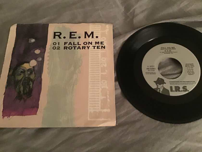 R.E.M. 45 With Picture Sleeve  Fall On Me/Rotary Ten