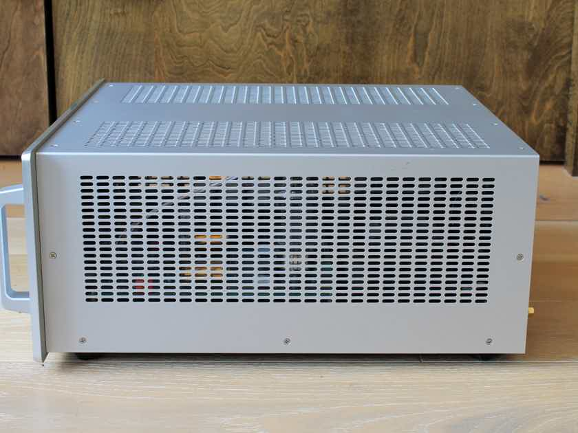 Audio Research REF75 Stereo Tube Amplifier, Silver Finish