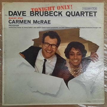 The Dave Brubeck Quartet Guest Star Carmen McRae Tonight Only!