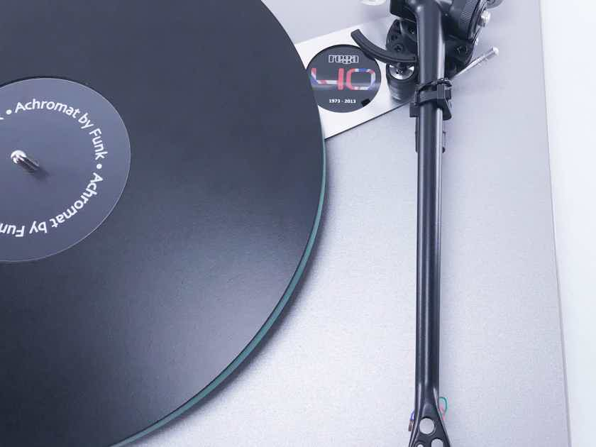Rega RP40 Anniversary Edition Turntable; GrooveTracer Counterweight; DL103 Cart (11201)