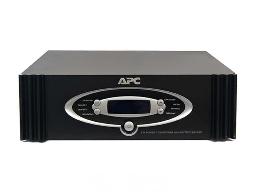 APC S15BLK 1.5kVA S Type Power Conditioner with Battery Backup Black 120V