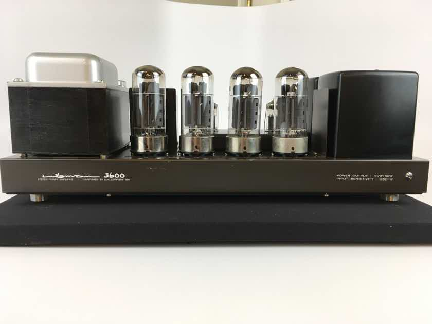 Luxman MQ-3600 50W Tube Amp with Original Tubes Made in Japan
