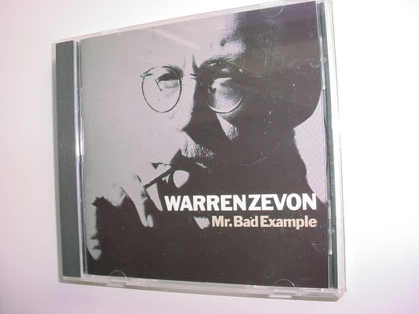 Warren Zevon cd Mr bad example 1991 Giant