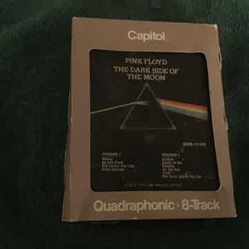 Pink Floyd  The Dark Side Of The Moon Quadraphonic 8 Track