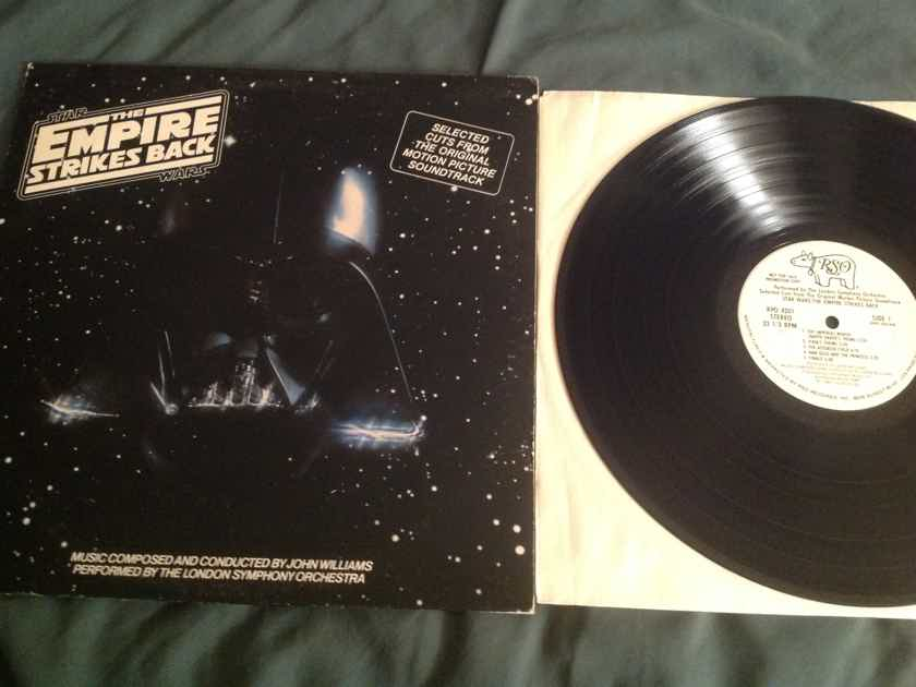 John Williams London Symphony Orchestra  Star Wars The Empire Strikes Back Selected Cuts From The Original Motion Picture Soundtrack