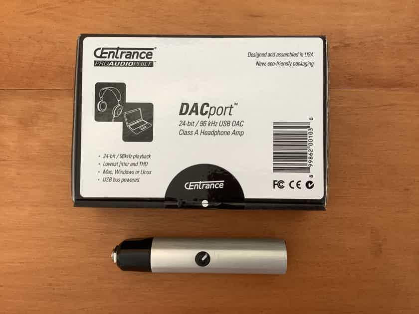 CEntrance DACport Class A headphone DAC amp