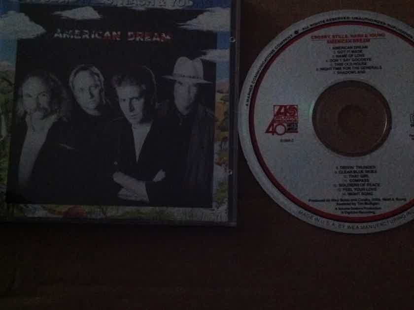 Crosby,Stills Nash & Young - American Dream Atlantic Records Compact Disc