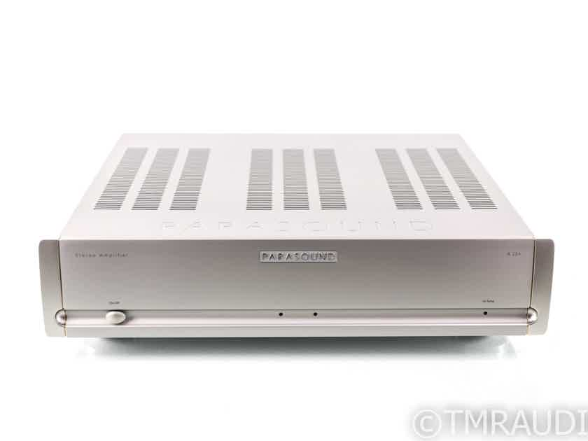 Parasound Halo A23+ Stereo Power Amplifier; A-23 Plus; Silver (29073)
