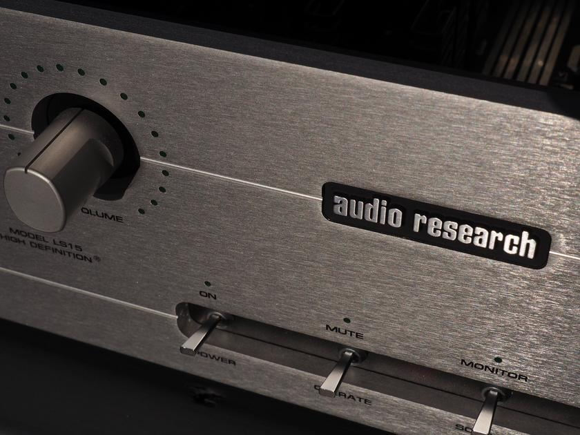 Audio Research    LS15 GNS reference