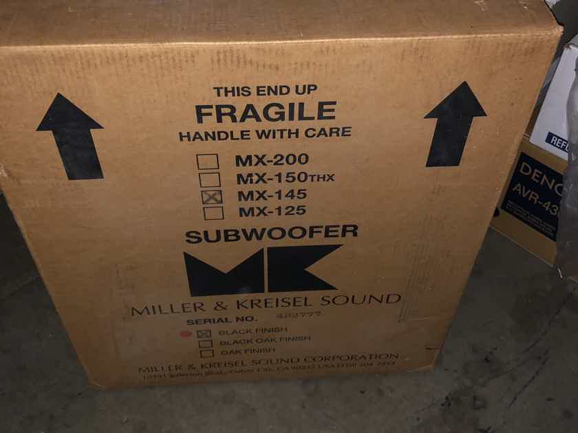 Miller and Kreisel MX-145 Subwoofer