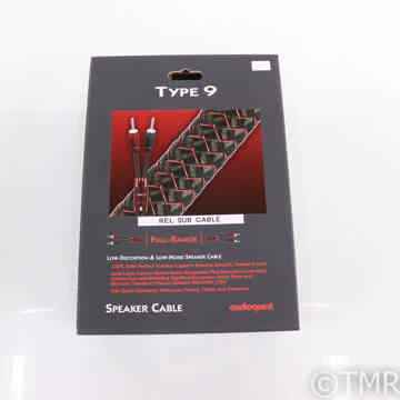 Type 9 REL High Level Subwoofer Cable