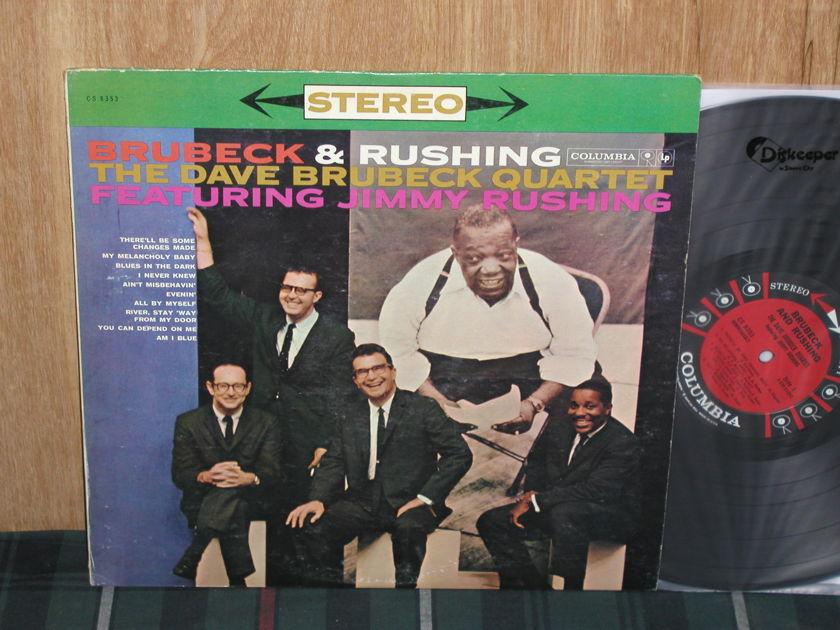 Dave Brubeck Quartet Feat. Jimmy Rushing - Brubeck& Rushing Columbia CS 9253 Six Eye STEREO