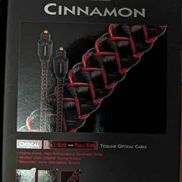 AudioQuest Cinnamon optilink .75m