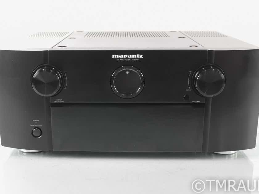 Marantz AV 8801 11.2 Channel Home Theater Processor; AV8801; MM Phono; Remote (29331)