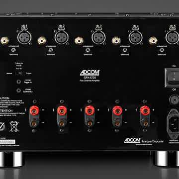 ADCOM GFA-5705, the latest CLASS A/B multichannel amplifier