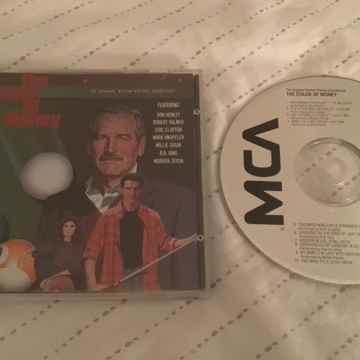 Soundtrack MCA Records Japan Compact Disc  The Color Of Money
