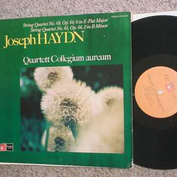 BASF Joseph Haydn string quartets no65 & 69 lp record Quartet Collegrium Aureum