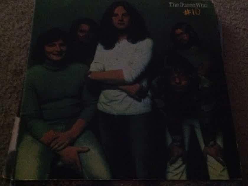 The Guess Who - #10 RCA Records Orange Label Vinyl LP  NM
