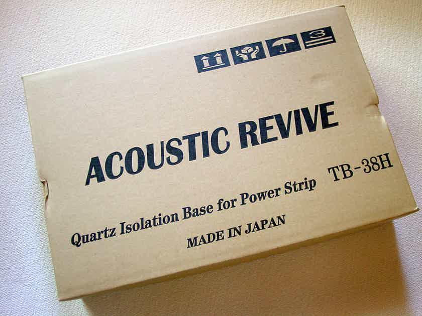 Acoustic Revive TB-38H Quartz Isolation Base w/Hickory Top Plate