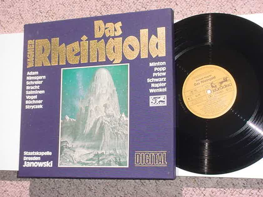 Classical 3 lp record box set Wagner - Das Rheingold Janowski has booklet  Eurodisc digital see add