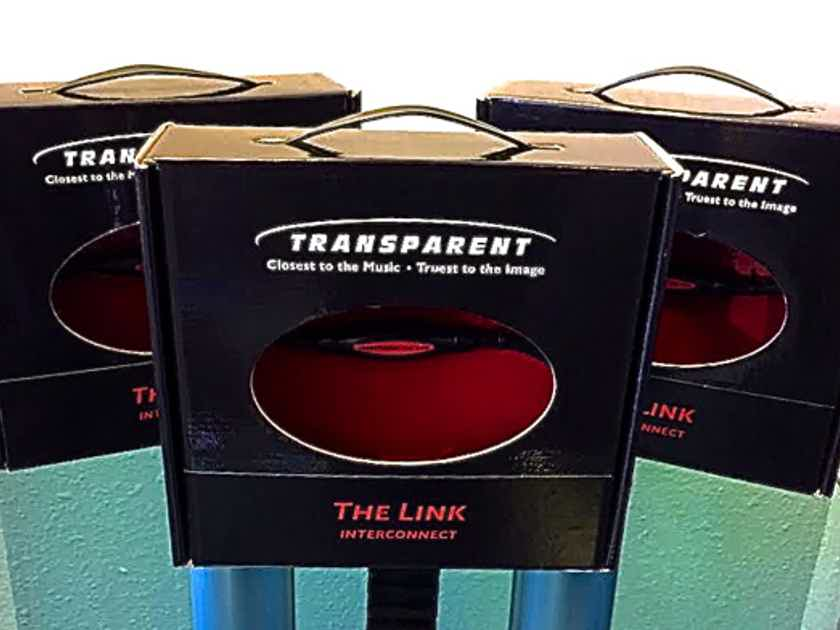 Transparent Audio The Link RCA Interconnects