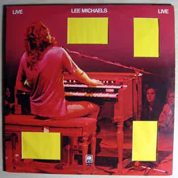 Lee Michaels - Live 1973 EX+ Double Vinyl LP A&M Record...