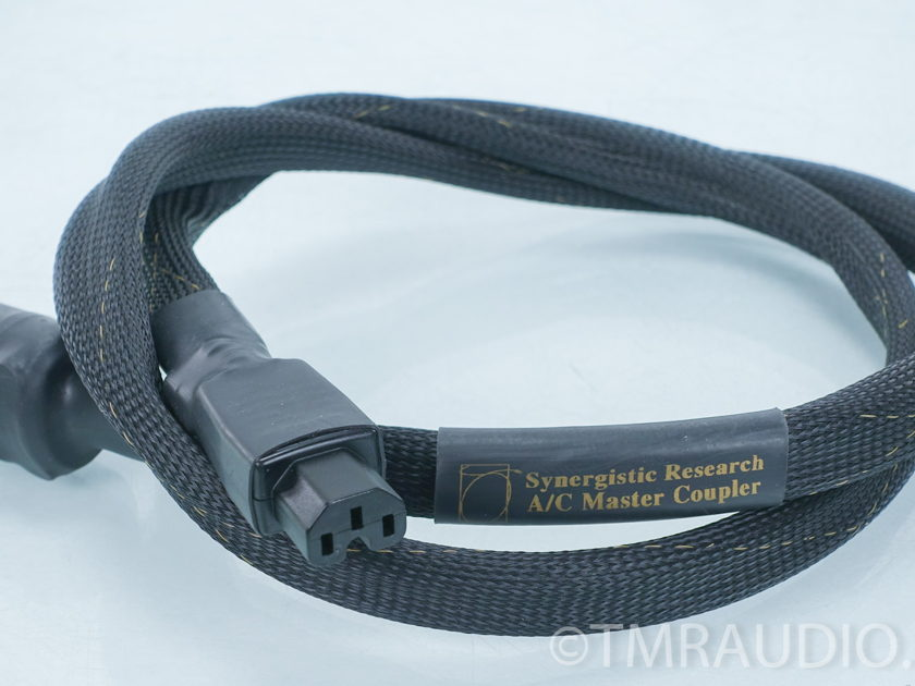 Synergistic Research A/C Master Coupler 1.5m AC Cable / Power Cord (7661)