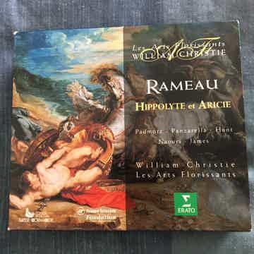 Rameau William Christie  Hippolyte et Aricie Cd set Erato 1990 Germany