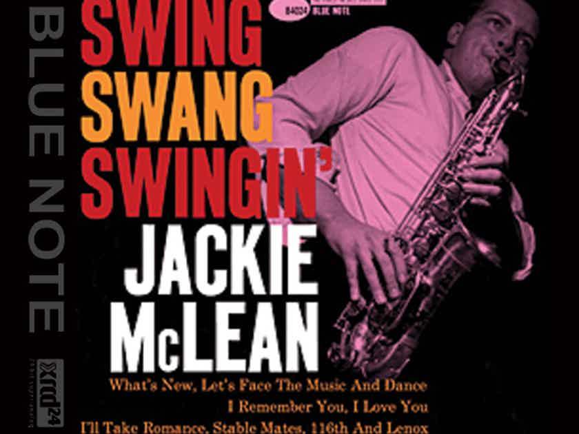 Jackie McLean Swing, Swing, Swing - XRCD24