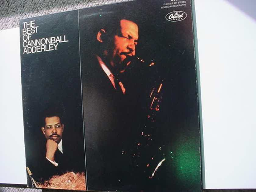 jazz The Cannonball Adderley lp record - the best of CAPITOL Starline SKAO 2939