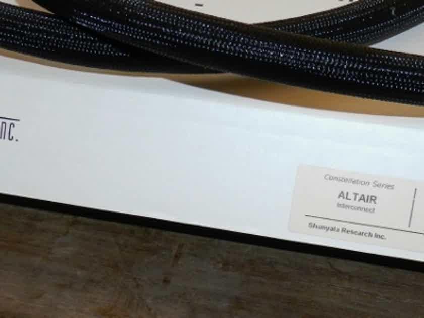 Shunyata Research Altair  XLR NEW PRICE Helix Geometry  1 meter