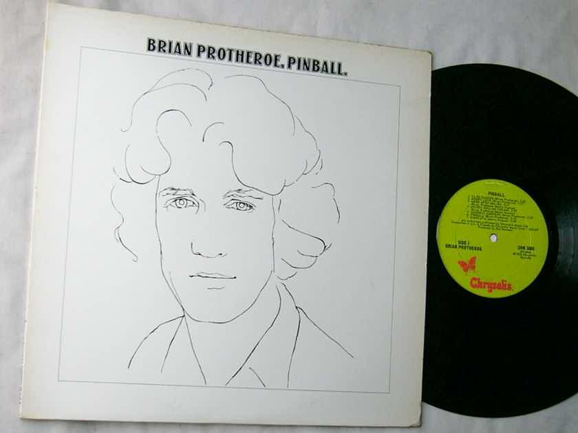 BRIAN PROTHEROE - - PINBALL - RARE ORIG 1974 POP PSYCH LP - CHRYSALIS CHR 1065