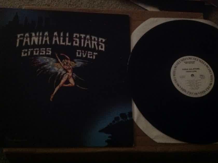 Fania All Stars - Cross Over White Label Promo Vinyl  LP NM Columbia Records