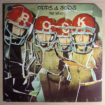 The Who - Odds & Sods -First Press 1974 Compilation MCA...