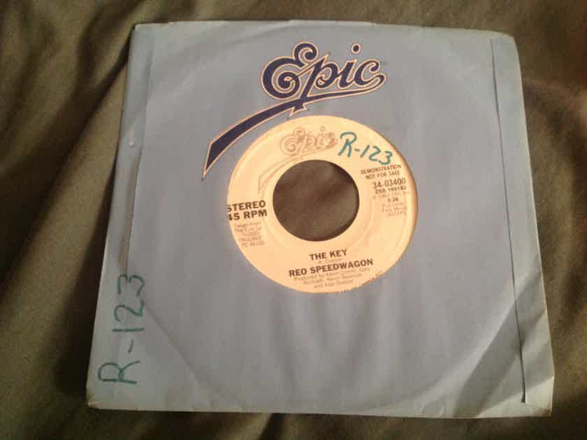 REO Speedwagon The Key Epic Records Promo Single
