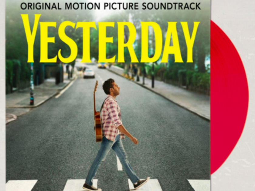 Original Movie Soundtrack Yesterday - 2LPs on Red Vinyl - Ltd to 2000 copies - New