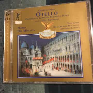 Giuseppe Verdi Mario Del Monaco  Otello double Cd set Mondo Musica 20 bit 1999