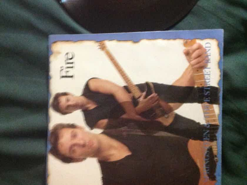 Bruce Springsteen - Fire 45 With Sleeve