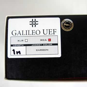 Synergistic Research Galileo UEF RCA interconnect cables