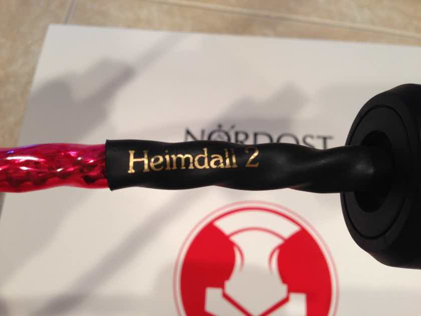 Nordost Heimdall 2 > ROHS > AC Power Cable - 2 Meters - BRAND NEW 2018 - (2 available)