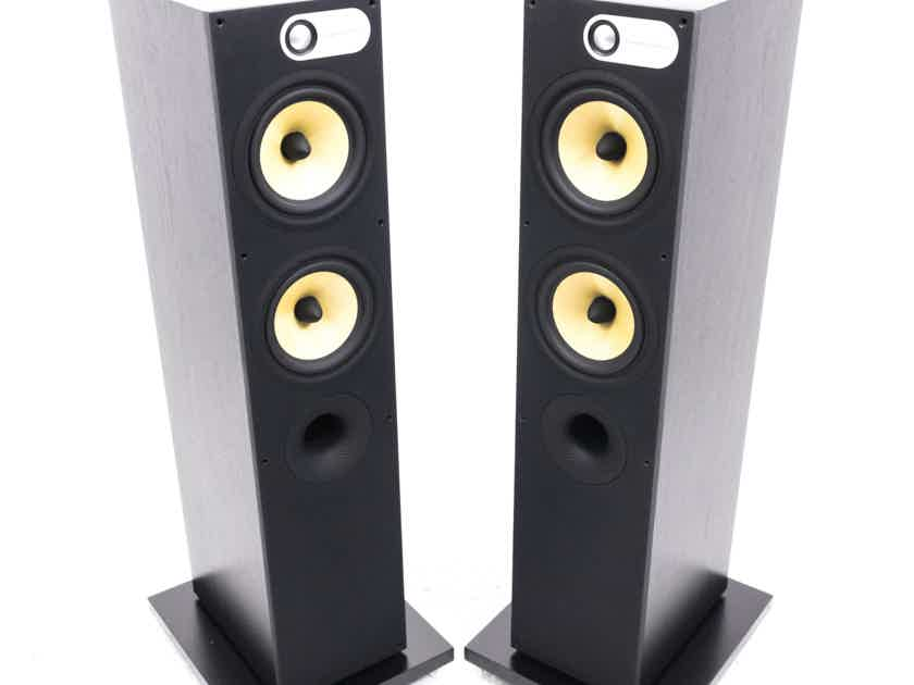 B&W 684 Floorstanding Speakers; Black Ash Pair (21683)