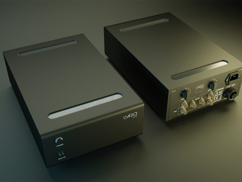 Lyric Audio PS 10 - MC/MM tube phono stage - Best Sound at RMAF 2016 with Voxativ and Fern & Roby