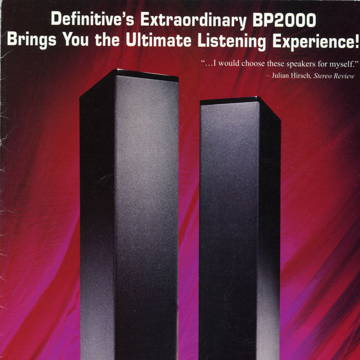 Definitive Technology BP-2000