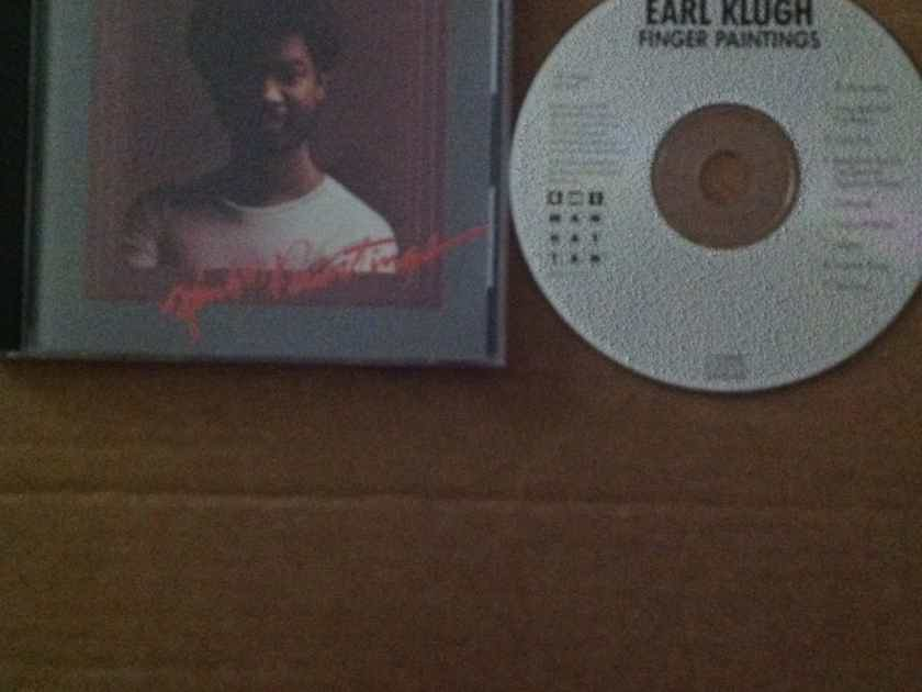 Earl Klugh - Finger Paintings EMI Manhattan Records Compact Disc